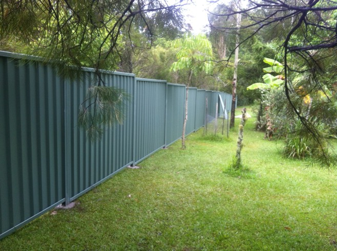 Colorbond Fencing Sunshine Coast