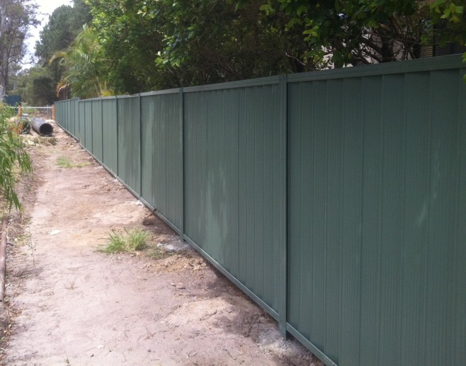 Colorbond Fencing Brisbane