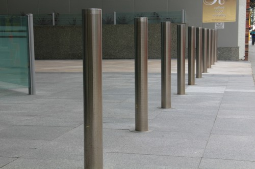 Security Bollards Brisbane Stainless Steel Anti Ram Raid