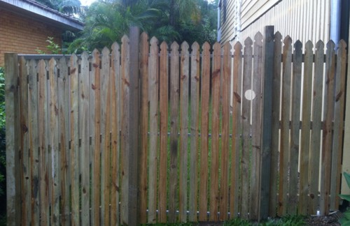Timber Garden Fencing Brisbane